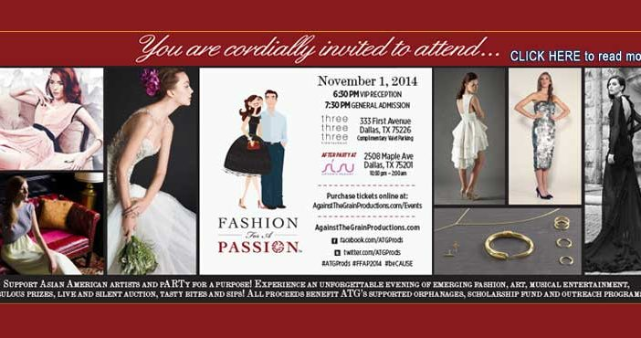 Sixth Annual Fashion For A Passion Featured 2014 Designers